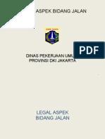 Legal Aspek Bidang Jalan