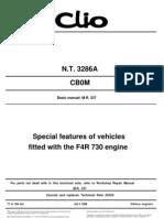 Clio Sport Manual 3286a