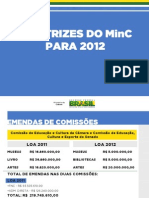 Diretrizes Do Minc 2012