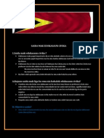 Saida Mak Edukasaun Civika Iha Timor Leste