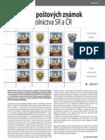Tlačový list poštových známok s motívom colníctva SR a ČR (Colné aktuality č. 5 - 6/2012)