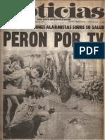 Diario Noticias - Argentina - Año 1, No. 4, 24 de noviembre de 1973