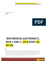 BIO-MEDICAL-ELECTRONIC'S, SEC# 1 AND 2 , CH-6 (PART-25-OF- 25 ).