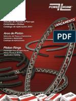 POWER ENGINE CATALOGO ANEIS DE PISTOES EM PDF