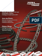 POWER ENGINE CATALOGO ANEIS DE PISTOES EM PDF
