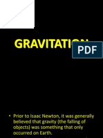 Topic 7 Gravitation
