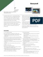 Honeywell Tuxedo Touch Residential Data Sheet