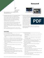 Honeywell Tuxedo Touch Commercial Data Sheet