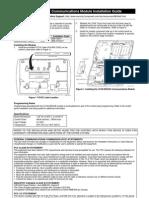 Honeywell l5100 ZWAVE Install Guide