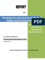 Retail Store Design Using QFD