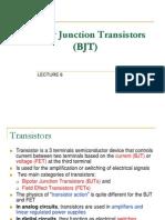 Element 2 - Bipolar Junction Transistor (BJT)