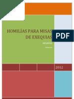 HOMILÍAS DE DIFUNTOS