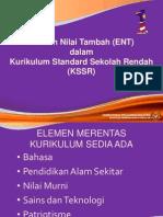 Elemen Nilai Tambah Dalam KSSR