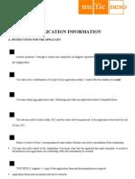StuNed Form (Master Prog - Deadline 31 Mar 2011)