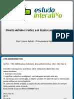 17.05.2012 - Laura Nahid - Direito Administrativo - Ato Administrativo
