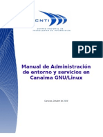 Manual Administrador de entornos y servicios en canaima gnu/linux