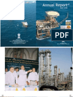 Govt of India Ministry of Oil & Gas AR 2007 2008