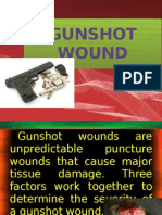 Gunshot Wound
