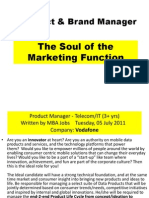 PBM - Session 1 - Role of Product Manager