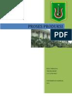 Proses Produksi Reza