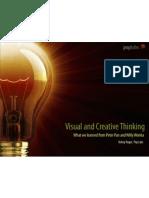 Visual Creative Thinking