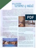 Balnearios de Aragon en Revista Panorama