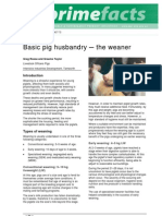 Basic Pig Husbandry-The Weaner - Primefact 72-Final