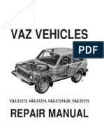 LADA Niva 1600 1900 Diesel Engine Hood Rubber Seal // Weather Stripping 1700