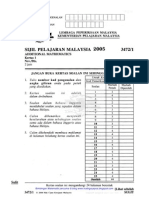 Koleksi Soalan Spm Add Maths  Elementary Geometry  Geometry