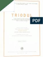 Triodul (1986)