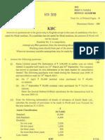 CA IPCC NOV 2010 QUSTION PAPER 5