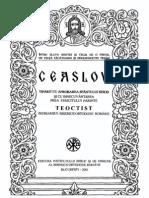 Ceaslov (2001)