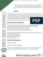 Decompression Procedures Diver Course