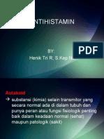 Antihistamin h Nique
