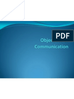 Objectives of Communication Ppt