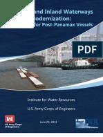 June 20 U.S. Port and Inland Waterways Preparing for Post Panamax Vessels