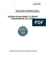 Standards Design of Buildings to Resist Progressive Collapse