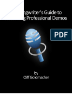 36363206 the Songwriter s Guide to Recording Professional Demos