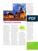Romania -  Transylvania brochure