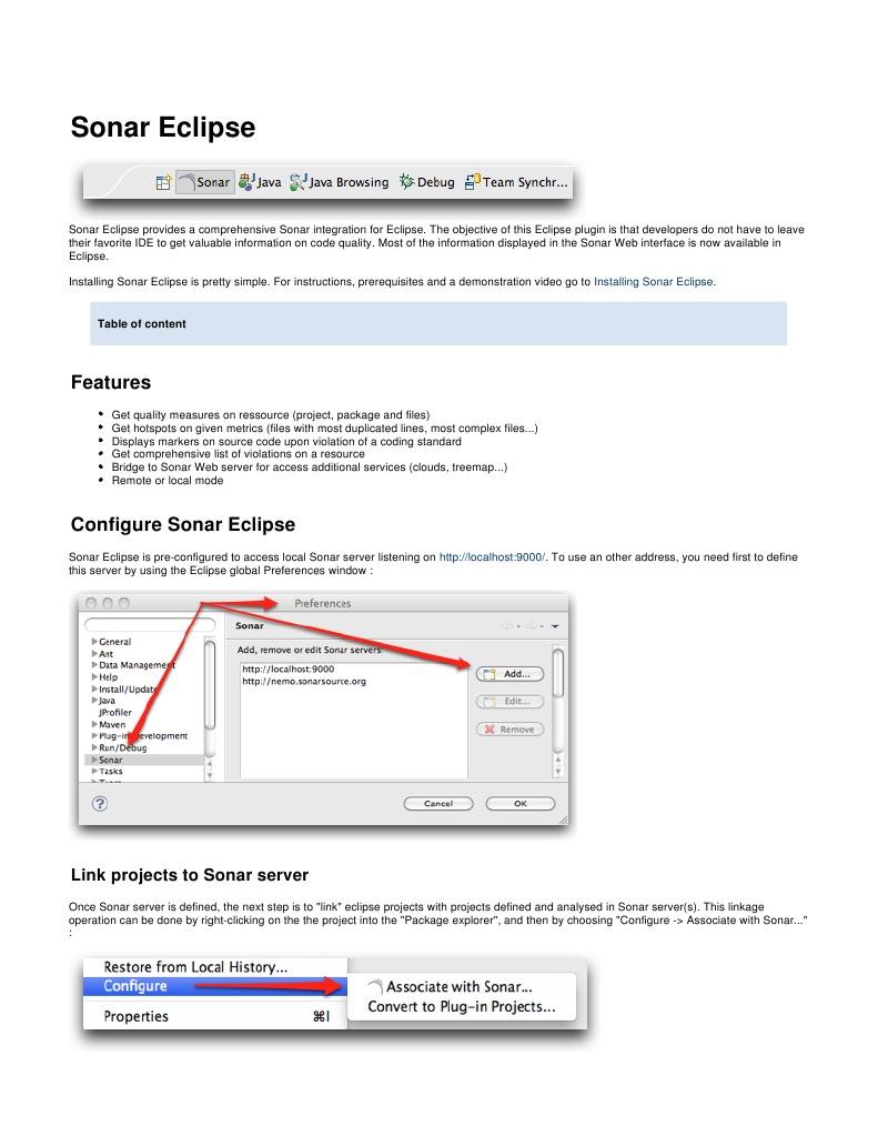 Sonar Sonareclipse 110511 1117 21160 Eclipse Software