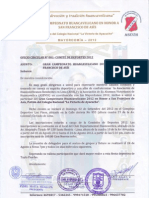 Oficio de Invitacion- Campeonato Huancavelicano Lima -2012