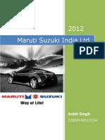 Maruti Suzuki India Ltd.