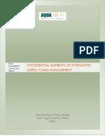 Essentials of Effective SCM