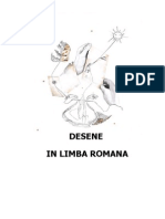 Desen in Limba Romana