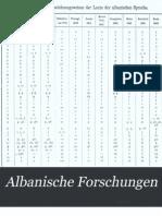 """Hulumtime shqiptare"" Albanische Forschungen Dr Franz Miklosich (Ritter von) - 1870"