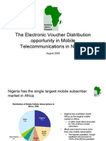 The Electronic Voucher Distribution Opportunity in Nigeria