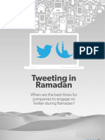Tweeting in Ramadan