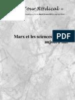 Détour R@dical, Marx et les sciences sociales, Mardi 20-03-12