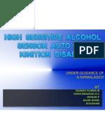 High Sensitive Alcohol Sensor