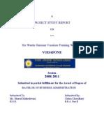 Chitras Summer Training Report